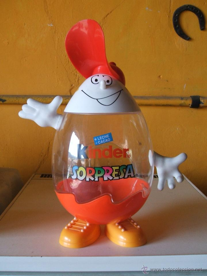Figuras Kinder: EXPOSITOR HUEVOS CHOCOLATE KINDER SORPRESA. - Foto 5 - 200310520