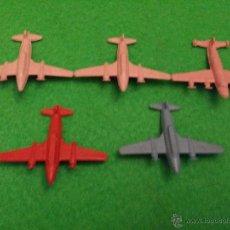 Figuras de Goma y PVC: ANTIGUOS AVIONES DE PLASTICO MONTAPLEX. Lote 45275704