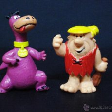 Figuras de Goma y PVC: FIGURA O MUÑECO GOMA PVC - PABLO Y DINO DE LOS PICAPIEDRAS - PICAPIEDRA - BULLY - HANNA BARBERA. Lote 45316135
