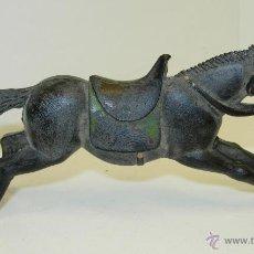 Figuras de Goma y PVC: FIGURA GOMA CABALLO COWBOY VAQUERO ,DE REAMSA. Lote 45340459