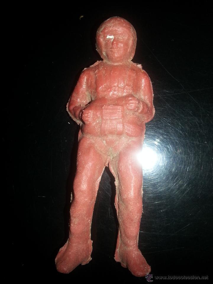 FIGURA PROMOCIONAL PARACAIDISTA PIPERO KIOSCO AÑOS 70 (Juguetes - Figuras de Goma y Pvc - Pipero)