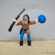 Figuras de Goma y PVC: FIGURA INDIO EXPLORADOR DE COMANSI - INDIO YANQUI DE COMANSI. Lote 45425647