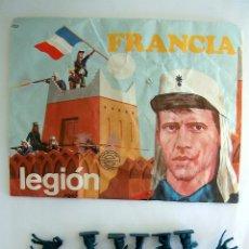 Figuras de Goma y PVC: MONTAPLEX SOBRE Nª 109 FRANCIA LEGIÓN VACIO + 1 COLADA DE LEGIONARIOS EN COLOR AZUL. Lote 89267194