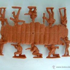 Figuras de Goma y PVC: MONTAPLEX 1 COLADA DE SOLDADOS JAPONESES DEL SOBRE Nº 108 - COLOR BEIGE - TAMAÑO MEDIO. Lote 45582072