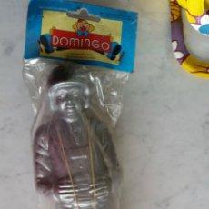 Figuras de Goma y PVC: PARACAIDISTA DE 20 CM AÑOS 60 NUEVO. Lote 45617510