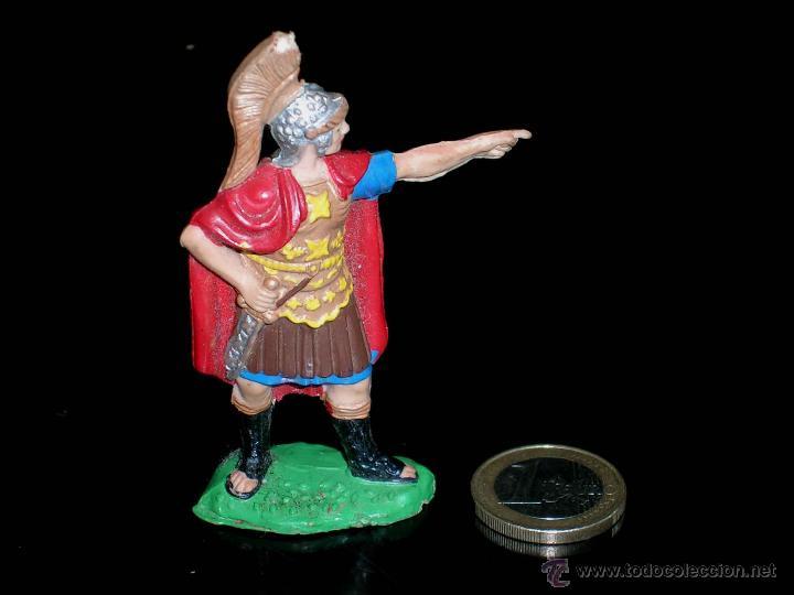 FIGURA LEGIONARIO ROMANO, FABRICADO EN GOMA, REAMSA, ORIGINAL AÑOS 50/60. (Juguetes - Figuras de Goma y Pvc - Reamsa y Gomarsa)