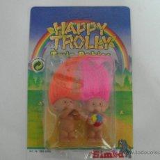 Figuras de Goma y PVC: MUÑECOS TROLL BABIES HAPPY TROLLY 9 CM SIMBA - ARTICULO NUEVO. Lote 221712260