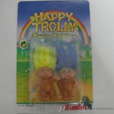 Figuras de Goma y PVC: MUÑECOS TROLL BABIES HAPPY TROLLY 9 CM SIMBA - ARTICULO NUEVO. Lote 45630677