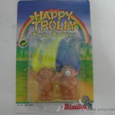 Figuras de Goma y PVC: MUÑECOS TROLL BABIES HAPPY TROLLY 9 CM SIMBA - ARTICULO NUEVO. Lote 221712358