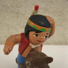 Figuras de Goma y PVC: SENDA Y JACKY - FIGURA DE PVC - EL BOSQUE DE TALLAC - EURA.. Lote 45758385