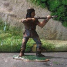 Figuras de Goma y PVC: VAQUEROS REAMSA INDIO CANADA. Lote 45779555