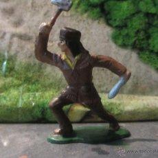 Figuras de Goma y PVC: VAQUEROS REAMSA INDIO CANADA. Lote 45779564