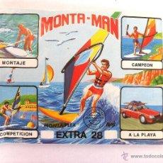 Figuras de Goma y PVC: SOBRE MONTAPLEX EXTRA Nº 28 MONTAMAN SURFISTA - SOBRE CERRADO. Lote 215669623