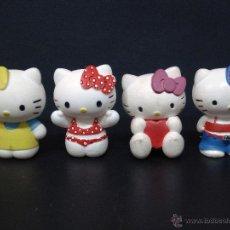 Figuras de Goma y PVC: FIGURA O MUÑECO GOMA PVC - LOTE DE 4 FIGURAS DE HELLO KITTY - BULLY. Lote 45882122
