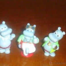 Figuras Kinder: HIPOPÓTAMOS KINDER / FERRERO. DIRECTOR DE CINE Y ACTORES. 1992.. Lote 45909372