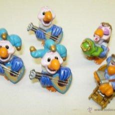 Figuras Kinder: LOTE JUGUETES KINDER SORPRESA BUITRES. Lote 39449971