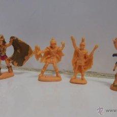 Figuras de Goma y PVC: LOTE DE FIGURAS ROMANOS GLADIADORES ATLANTIC. Lote 46045302