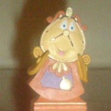 Figuras de Goma y PVC: DIN DON (LA BELLA Y LA BESTIA). BULLYLAND. PINTADO A MANO.. Lote 131133067