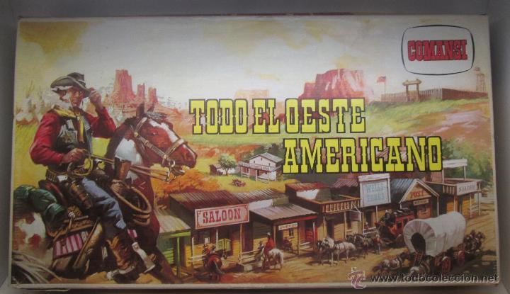 COMANSI AÑOS 70 TODO EL OESTE AMERICANO (Juguetes - Figuras de Goma y Pvc - Comansi y Novolinea)