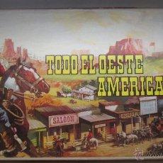 Figuras de Goma y PVC: COMANSI AÑOS 70 TODO EL OESTE AMERICANO. Lote 56646565