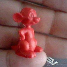 Figuras de Goma y PVC: FIGURA PLASTICO REGALO KIOSCO CHICLE O PASTELITO DUNKIN CONEJO SUERTE CANGURO BOXEADOR WARNER 1967 . Lote 46115299