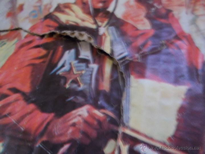 Figuras de Goma y PVC: COMANSI: TODO EL OESTE AMERICANO. REF. 222 CAJA GRANDE TODO MADERA AÑOS 60 FUERTE FORT FEDERAL. PTOY - Foto 5 - 46162854