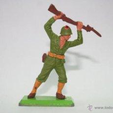 Figuras de Goma y PVC: FIGURA BRITAINS SOLDADO AMERICANO. Lote 46186977