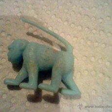 Figuras de Goma y PVC: FIGURA MUÑECO PROMOCIONAL DUNKIN SIMILAR FIERAS ZOO LEOPARDO MONO MANDRIL AZUL. Lote 46215772