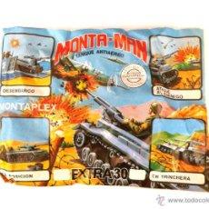 Figurines en Caoutchouc et PVC: SOBRE MONTAPLEX EXTRA Nº 30 MONTAMAN TANQUE ANTIAEREO GORILLA - SOBRE CERRADO. Lote 222908927