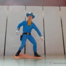 Rubber and PVC Figures - gran figura oeste confederados unionista años 60 de 16 cm - 46255099