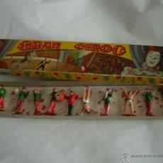 Gummi- und PVC-Figuren - ANTIGUA CAJA Y FIGURAS CIRCO JECSAN AÑOS 60 - 46270990