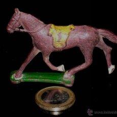 Figuras de Goma y PVC: CABALLO OESTE TAMAÑO PEQUEÑO, FABRICADO EN GOMA, CAPELL O SIMILAR, ORIGINAL AÑOS 50.. Lote 46364862