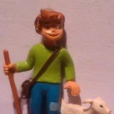 Figuras de Goma y PVC: FIGURA PVC PEDRO CON OVEJA HEIDI TAURUS FILMS COMIC SPAIN. Lote 46391749
