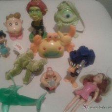 Figuras de Goma y PVC: LOTE PEQUEÑOS JUGUETES LO QUE SE VE EN LA FOTO. Lote 46396481
