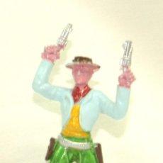 Figuras de Goma y PVC: SOTORRES, VAQUERO EN PIE CON DOS PISTOLAS. Lote 46608216