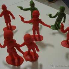 Figuras de Goma y PVC: LOTE 7 FIGURAS COMANSI THUNDERBIRDS. Lote 46622721
