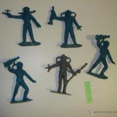Figuras de Goma y PVC: LOTE DE 5 FIGURAS COMANSI OVNI --LOTE 8--. Lote 46622896