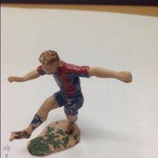 Figuras de Goma y PVC: FIGURA JUGADOR DE FUTBOL JECSAN EN PLASTICO. Lote 46656095