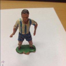 Figuras de Goma y PVC: FIGURA JUGADOR DE FUTBOL. Lote 46656529