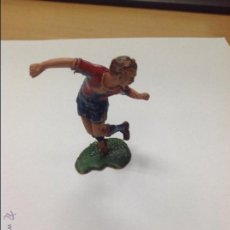Figuras de Goma y PVC: FIGURA JUGADOR FUTBOL JECSAN. Lote 46656575