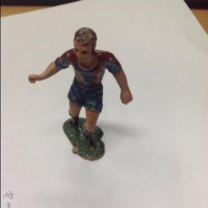 Figuras de Goma y PVC: FIGURA JUGADOR FUTBOL JECSAN. Lote 46656689