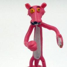 Figuras de Goma y PVC: PANTERA ROSA PINK PANTER FLEXI FLEXY PLÁSTICO FLEXIBLE VICMA 1983. Lote 46662820