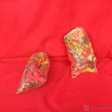 Figuras de Goma y PVC: LOTE INDIOS VAQUEROS Y CABALLOS,AÑOS 70,NO CHINOS,KIOSCO. Lote 58302118