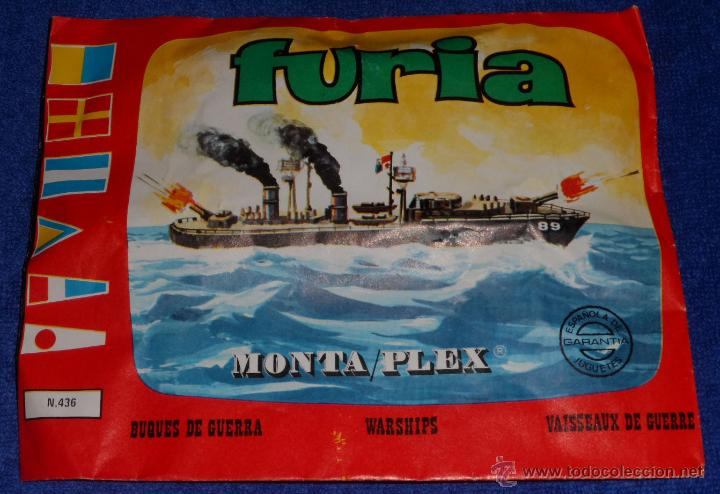 FURIA - MONTAPLEX ¡AÑOS 70! (Juguetes - Figuras de Goma y Pvc - Montaplex)