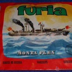 Figuras de Goma y PVC: FURIA - MONTAPLEX ¡AÑOS 70!. Lote 46725562