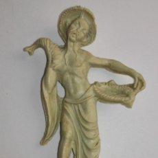 Figuras de Goma y PVC: FIGURA PUBLICITARIA DE CAFES MAURICE. AÑOS 60/70. Lote 46739398
