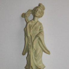 Figuras de Goma y PVC: FIGURA PUBLICITARIA DE CAFES MAURICE. AÑOS 60/70. Lote 46739414