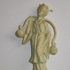 Figuras de Goma y PVC: FIGURA PUBLICITARIA DE CAFES MAURICE. AÑOS 60/70. Lote 46739432