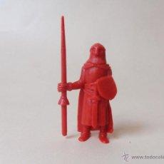 Figuras de Goma y PVC: FIGURA DE GUERRERO CON LANZA DE RUY PEQUEÑO CID PROMOCIONAL DE DANONE. Lote 46768977