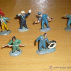 Figuras de Goma y PVC: SERIE COMPLETA EN GOMA MINIATURAS GARAJE PECH REF W/5. Lote 46775161